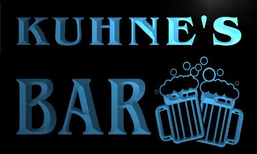w031943-b-kuhne-name-home-bar-pub-beer-mugs-cheers-neon-light-sign-barlicht-neonlicht-lichtwerbung