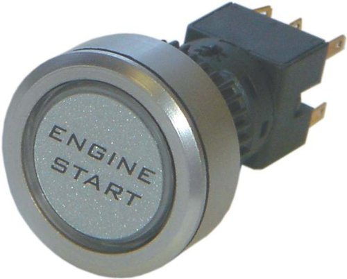 Engine Start Exrta Large Push Illuminated Push Button Switch Car Van Dash 12V Illuminated Push Button Switches