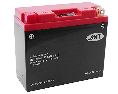 Batterie Lithium JMT HJT12B-FP für DUCATI Superbike 749R, S 749 ccm [ inkl.7.50 EUR Batteriepfand ]