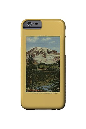 Paradise Inn, Rainier National Park (iPhone 6 Cell Phone Case, Slim Barely There) -