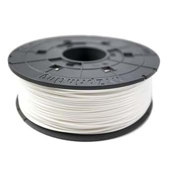 XYZprinting ABS Plastik Filament Patrone, 1.75 mm, 600 g, weiß