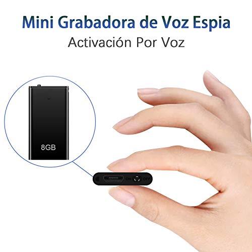 Mini Grabadora de Voz Digital
