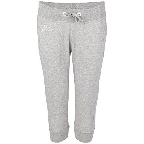 Kappa Damen Hose Pippa 3/4 Pants, 19M Grey Melange, XXL, 303167 Preisvergleich