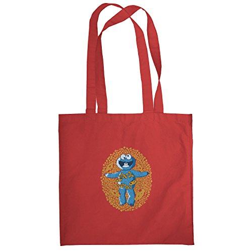 Texlab–American Cookie–sacchetto di stoffa Rot