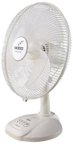 Usha Maxx Air 400mm 55-Watt Table Fan (White)