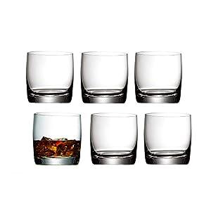 WMF easy Whiskyglas Set 6-teilig 300ml Tumbler Whiskybecher spülmaschinengeeignetbruchsicher