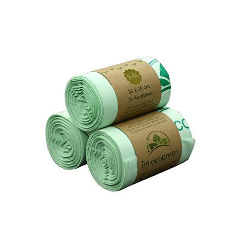 Bolsa de basura biodegradable 100 % IM ECOGREEN