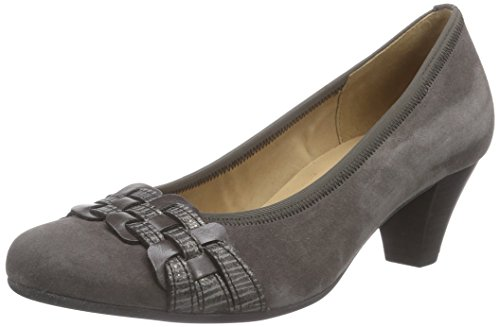 Gabor Shoes - Gabor Basic 35.480, Pumps da donna Grigio (Grau (zinn/vulcano/grafi 19))