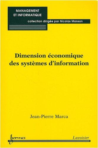 Dimension économique des systèmes d'information