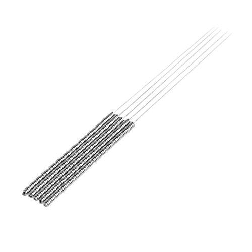 5pcs 0.3mm 3D Drucker Drill Bit Düsen Düsenreinigung Nadeln Tool Kit