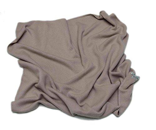 100% Baby Cashmere Coperta, cashmere della Mongolia (26/2) 4 strati cachemire inverno spesso coperta del cachemire, coperta regalo morbido di lusso invernale per bambini, Marrone