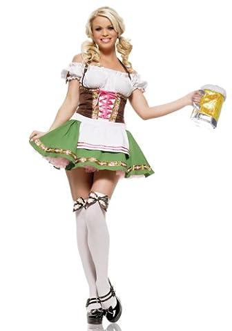 Leg Avenue Womens German Beer Girl Fancy dress costume