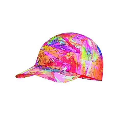 Buff Mädchen Pack Cap, Fireworks Multi, One Size - Crown Cap Hüte