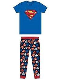 69ac69ab80 Superman Men s   Older Boy s Character Pyjamas Set Official Licence Men s  Sleepwear