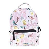 3D Printed Women Mini Backpack For Girls Kids School Bag Baby Pineapple Flamingo Printing Kindergarten Canvas Schoolbag For Children