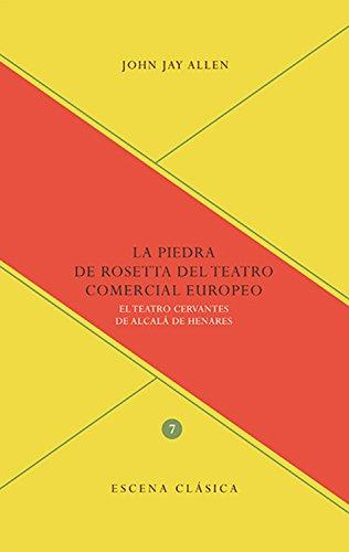 La Piedra de Rosetta del teatro comercial europeo: El Teatro Cervantes de Alcalá de Henares (Escena clásica nº 7)