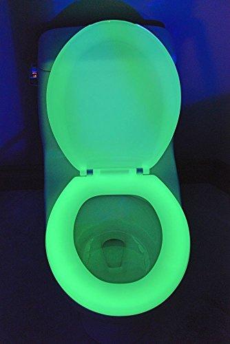 Winkee WC Sitz, Plastik, Grün, 44 x 36 cm (Glow Wc-sitz)
