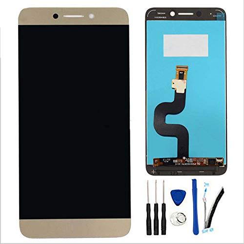 SOMEFUN Pantalla Táctil LCD de Digitalización Asamblea Pantalla de Recambio para LeTV LeEco X521/X525/X527/X528/X529 X 620 Le 2 (Oro)