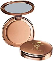 Lakmé 9 To 5 Flawless Matte Complexion Compact, Almond, 8 g