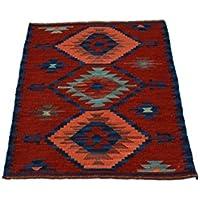 Miss Cucci, Afghan Kilim 70x 100cm