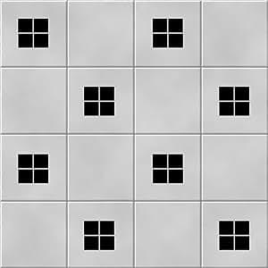 'Squares' Kitchen / Bathroom Ceramic Tile Decal Sticker ...