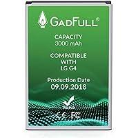 GadFull Batteria per LG G4 | di costruzione anno 2018 | Corrisponde alla batteria a ioni al litio originale BL-51YF | del modello LG G4 | G4 Dual Sim|G4 Stylus | H815 | H818P | H635