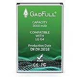 GadFull Batterie compatible avec LG G4 | 2018 Date de Production | correspond à d'origine BL-51YF | Li-Ion Batterie compatible avec LG G4 Dual Sim | G4 Stylus | H815 | H818P | H635