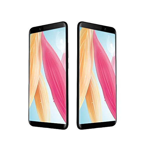 Smartphone ohne Vertrag, UMIDIGI S2 Lite 6 Zoll Smartphone mit 18:9 Infinity Display Android 4GB Dual Sim Handy, Vollmetall Unibody, RAM + 32GB Speicher, 16MP+5MP Dual-Lens-Kamera, 5100mAh Batterie, Face Unlock, Vollmetall Unibody, Octa Core, USB Type-C - Schwarz