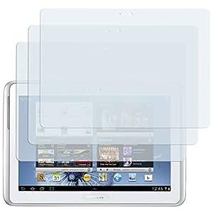 3 x mumbi Displayschutzfolie Samsung Galaxy Note 10.1 N8000 Schutzfolie CrystalClear unsichtbar