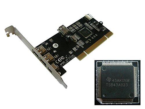 kalea-informatique-placa-para-controlador-pci-a-firewire-400-ieee1394a-3-puertos-chipset-texas-instr