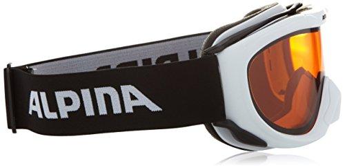 Alpina Skibrille FreeSpirit white dlh weiss dlh One size A7008-111