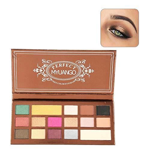 Eye Shadow, Pearl + Matte Eyeshadow, Polvo fino, Durable