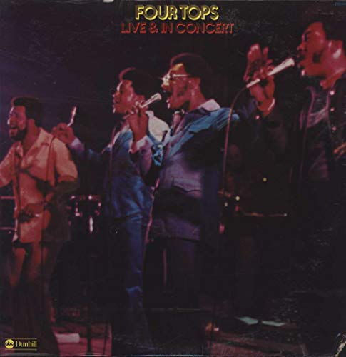Four Tops - Live & In Concert - Four Tops-live