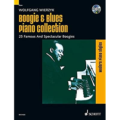 Boogie & Blues Piano Collection Piano +CD