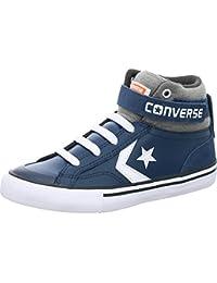 Converse Pro Blaze Strap Hi Navy/Storm Wind/White, Chaussons montants mixte enfant