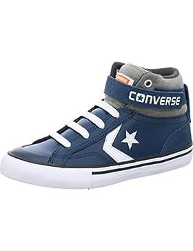 Converse Unisex-Kinder Pro Blaze Strap Hi Navy/Storm Wind/White Hohe Sneaker