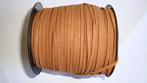 Cordon Antelina 3,5 Mm Carrtes 10 Mtrs Marrón Medio
