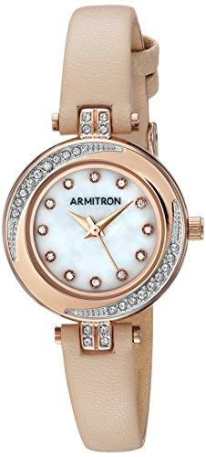 Armitron Damen analog Japanischer Quarz Uhr 75/5542MPRGBH