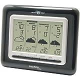 Technoline, WetterDirekt Wetterstation WD 4910 mit Innen- /Außentemperaturanzeige, Wettervorhersage für 4 Tage und Wetter für über 50 Regionen