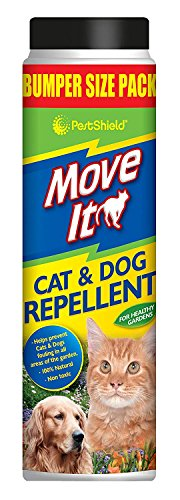 3 x PestShield Move It Cat & Dog Garden Repellent Non Toxic 100% Natural 600g