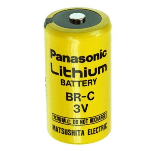 BR-C Panasonic Lithium Batterie Baby ohne Lötfahne, 3,0 Volt