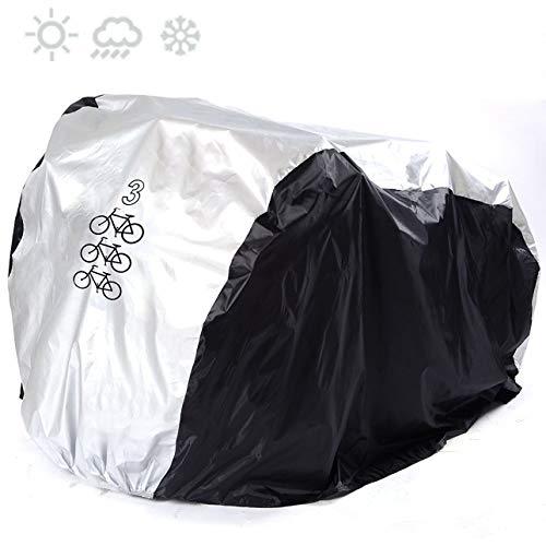 KOKOMALL Funda De Bici Impermeable Cubierta De Bicicleta Bloqueable Ligero Protección UV