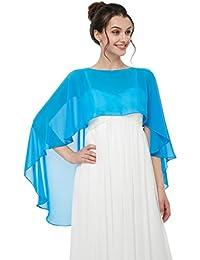 shopping nuovi oggetti autentica di fabbrica Amazon.it: coprispalle donna elegante - Sciarpe e stole ...