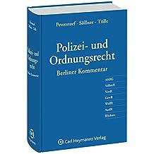 Polizei- und Ordnungsrecht: Berliner Kommentar