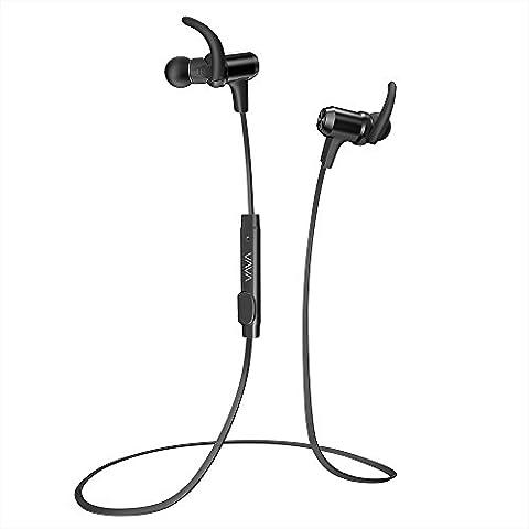 Bluetooth Headphones, VAVA Bluetooth 4.1 Wireless Sports Headphones in Ear