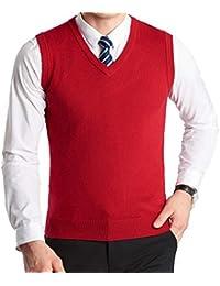 the latest bb015 0ce90 Amazon.it: gilet rosso smanicato - Uomo: Abbigliamento