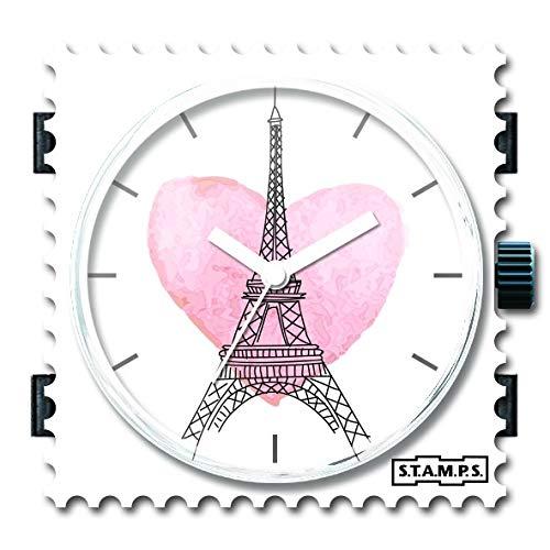 Stamps Uhr - Zifferblatt Paris - 105273