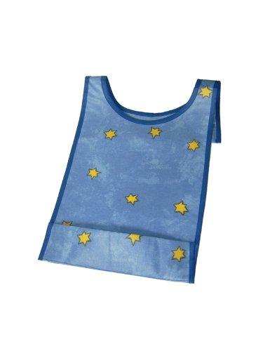 SANDINI Lätzchen mit Auffangtasche - abwischbar - Sterne