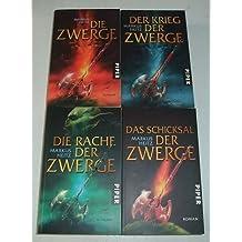Markus Heitz, Zwerge, Band 1,2,3,4 (Zwergen Reihe)