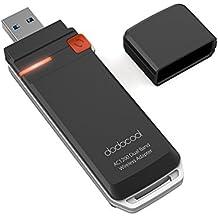 dodocool Adaptador Wifi USB 3.0 AC1200 Inalámbrico Dual Banda 2.4 GHz 300 Mbps o 5 GHz 867 Mbps Función WPS para Windows XP / Vista / 7 / 8 / 8.1 / 10 MAC OSX 10.4-10.10